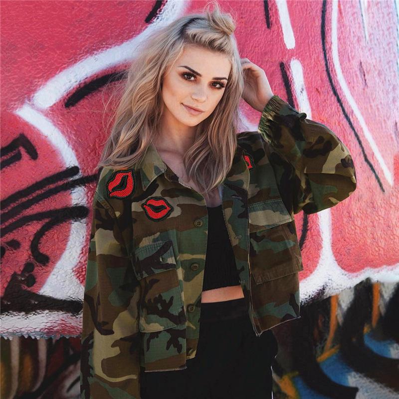 ec5e0f4aba58 Women Short Bomber Tumblr Aesthetic Jacket